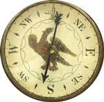 This compass is on permanent exhibit at the Ford's Theater Museum in Washington D.C. It is one of the items which belonged to President Abraham Lincoln's murderer, John Wilkes Booth.