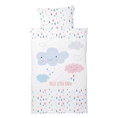 """Kinderbettwäsche """"Hello Little Rain"""" 100x135"""