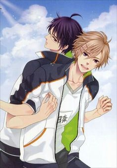 Brothers Conflict - Azusa and Tsubaki Naruto, Hinata, Manga Boy, Anime Manga, Brother Conflict, Anime Harem, Natsume, Anime Rules, Step Brothers