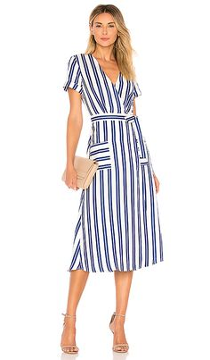 4a7b2c65bba Shop for L Academie Tuscy Dress in Ocean Stripe at REVOLVE. Free 2-