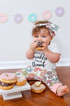 Donut Party Donut Grow Up Banner Donut Backdrop Donut First Birthday Donut Party Decor Donut Birthday Banner Doughnut Theme Birthday Party Theme Ideas First Birthday Pictures, First Birthday Themes, Baby Girl 1st Birthday, First Birthdays, Birthday Ideas, Birthday Banners, Birthday Quotes, First Birthday Decorations Girl, Birthday Invitations