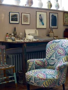 A Blind Pash Interiors: Bloomsbury