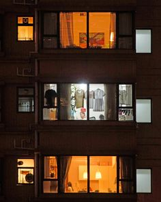 MICHAEL WOLF window watching