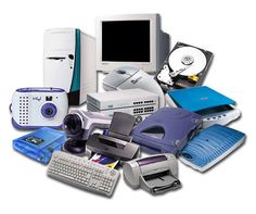 these are all examples of hardware. examples are keyboard, mouse, monitor, printer, and hard drive. basically anything you can touch