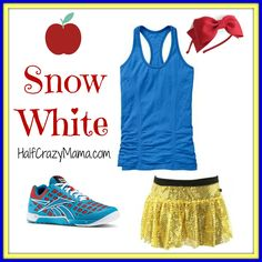 Snow White- Easy Disney Running Costumes