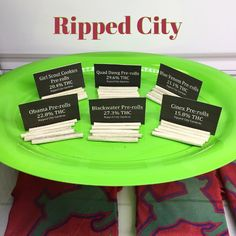 We've got 6 of our favorite strains all rolled and ready for you!  Quad Dawg, GSC, Blue Venom, Obama, Quad Dawg, and Cinex. 5$ each   GET RIPPED WITH RIPPED CITY!  #rippedcity #dispensary #prerolls #cannabusiness #cannabiscommunity #pdxdispensary #medicalmarijuana #420 #pdx420 #cannabis #mmj #gresham #pnw #oregon #oregongrown #pdx #portland #topshelf #rollonesmokeone #lightitup #ripcity #topshelf #experts #cannapeople #weedporn #ommp #indica #sativa #stayhigh #growpros