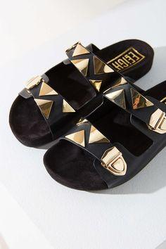 EEight Natalie Slide | vegan shoes | vegan sandals