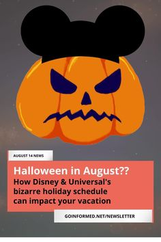 Halloween starts in August and Christmas starts November First at the Disney and Universal theme parks. Avoid hassles and confusion with these simple tips from the GoInformed email newsletter. Walt Disney World Vacations, Best Vacations, Universal Parks, Orlando Theme Parks, Disneyland Tips, Halloween Horror Nights, Disney World Tips And Tricks, Christmas Vacation, Confusion