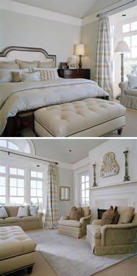 Great idea for cathedral ceiling ~ moulding
