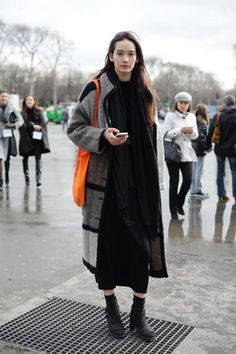 【PARIS】model: Mona Matsuoka