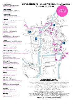 Emma Gelaude favourite Ghent shops, via myfashionblog.be
