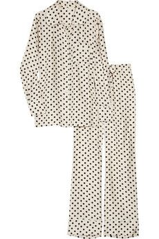 Polka Dot PJ's! I need some of these in every color combo imaginable. Thanks.