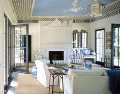Architect Madison Spencer and interior designer Ralph Harvard, Blue Ridge Farm, pool house