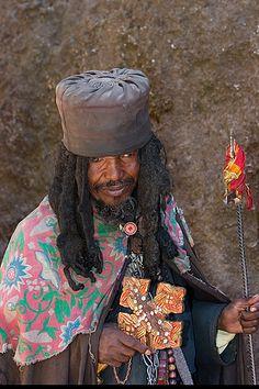 Lalibela Ethiopia Priest