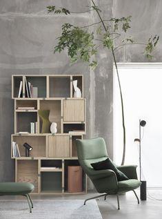Post Floor Lamp Stehleuchte Muuto - einrichten-design.de House Doctor, Build Your Own Shelves, Bookshelves, Bookcase, Muuto, Perriand, Shelf System, Bureau Design, Home Living