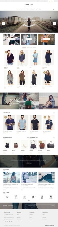 Soffia - The WordPress and WooCommerce Theme #webstore Download: http://themeforest.net/item/soffia-the-wordpress-and-woocommerce-theme/12336604?ref=ksioks