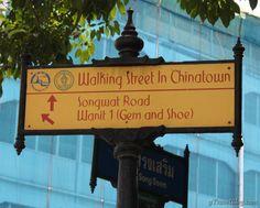 Chinatown Bangkok Thailand is said to be shaped like a dragon. We take a walk through the chaos of the Bangkok dragon finding food and more