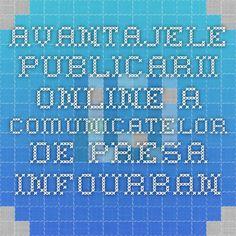 Avantajele publicarii online a comunicatelor de presa - InfoUrban Marker, Periodic Table, Diagram, Periodic Table Chart, Markers, Periotic Table