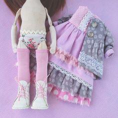 Набор из готовой одежды, обуви, выкроек куклы и одежды  можно заказать. #кукла…