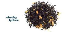 Cheeky Lychee tea from David's Tea - A cheeky twist on an old classic.