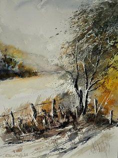 Watercolor, Pol Ledent.