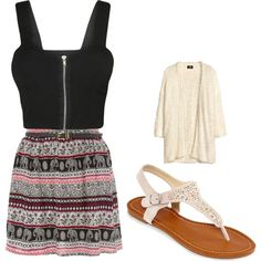 """In Summer"" by jordanniesel on Polyvore"
