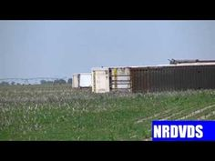 BNSF doublestack derailment and UP action from Shelton to Grand Island,N...