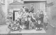 Oxford, Summerton Infant's School Children From The Francis Frith Collection. Nostalgic Images, School Children, Children Images, The Good Old Days, School Days, Vintage Images, Kids Toys, Nostalgia, The Past