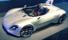 Looks like an old Porsche 550 Spyder Porsche 911, Porsche Panamera, Sexy Cars, Hot Cars, Automobile, Porsche Cayenne, Ferdinand Porsche, Roadster, Ferrari Laferrari