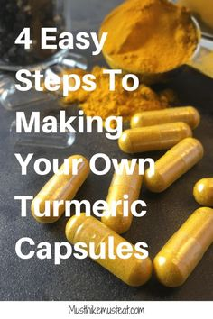4 Easy Steps For Making Your Own Turmeric Capsules Best Nutrition Food, Proper Nutrition, Nutrition Plans, Fitness Nutrition, Health And Nutrition, Health And Wellness, Wellness Fitness, Nutrition Guide, Pet Health