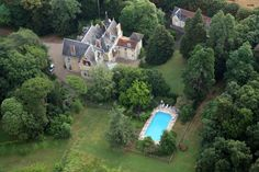 Villa for sale in Châtellerault, France ID 341346 Villa, France, Mansions, House Styles, Water, Outdoor, Beautiful, Gripe Water, Outdoors