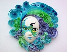 Quilled Mask