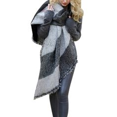 3 Colors Hot Sale 2015 Winter Fashion Blanket Scarf Female Cashmere Pashmina Wool Scarf Shawl Warm Thick Scarves Cape Wraps-in Scarves from Women's Clothing & Accessories on Aliexpress.com | Alibaba Group