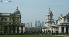 The Painted Hall (left) & The Chapel (right) - Old Royal Naval College, Greenwich (LW44-4)