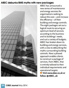 ABEC debunks BMS myths with new packages, CIBSE journal
