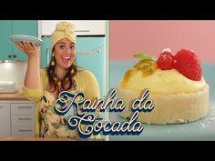 TORTA DE MARACUJÁ COM MASSA DE COCADA | A RECEITA QUE INSPIROU O NOME DO MEU PROGRAMA DE TV - YouTube