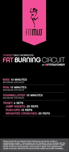 Workout of the Day! Fat Burning Circuit Powered by Plyometric Workout, Plyometrics, Rumpf Training, Weight Training, Strength Training, Back Day Workout, Fat Workout, Bikini Workout, I Work Out