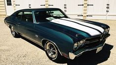 1970 Chevrolet Chevelle HP, presented as lot at Anaheim, CA 2015 - Old Muscle Cars, Chevy Muscle Cars, Best Muscle Cars, American Muscle Cars, Chevy Chevelle Ss, Classy Cars, Lifted Ford Trucks, Drag Cars, Hot Cars