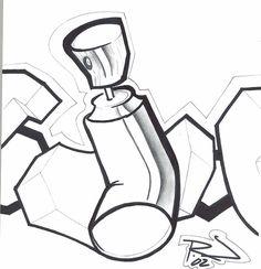 Graffiti Cartoons | Displaying 19> Images For - Graffiti Drawings ...