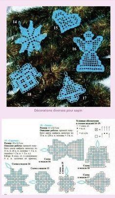 Crochet Christmas ornament crochet by SevisMagicalStitches on Etsy by loretta - Salvabrani - Salvabrani Crochet Snowflake Pattern, Crochet Snowflakes, Crochet Motif, Crochet Doilies, Crochet Flowers, Crochet Patterns, Crochet Christmas Ornaments, Holiday Crochet, Christmas Crafts