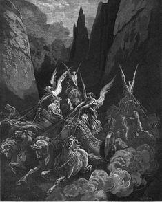 Gustave Doré (1832-1883) - The Bible (1865) - Zechariah 6-5 - Gustave Doré - Wikimedia Commons