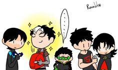 """""""The sun.""""  <-- robins and kon."""