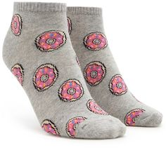 FOREVER 21 Donut Ankle Socks