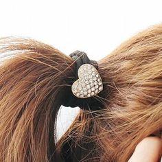Rhinestone Hair Tie Lois Hill Jewelry, Discount Jewelry, Hair Ties, Jewelry Stores, Stud Earrings, Stuff To Buy, Fashion, Hair Bows, Moda
