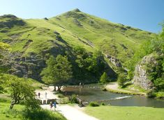 Stepping Stones at Dovedale, Peak District National Park