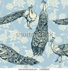 thumb9.shutterstock.com display_pic_with_logo 687049 132988922 stock-vector-vintage-antique-background-fashion-seamless-pattern-with-birds-white-peacocks-on-blue-wallpaper-132988922.jpg