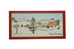 Country Scenes Handmade Card by Jenny Mayes Card Making Inspiration, Christmas Inspiration, Xmas Cards To Make, Country Scenes, Create And Craft, Love Cards, Clear Stamps, Diy Paper, Paper Crafts