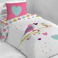 1000 images about housse de couette filles on pinterest owl bird bebe and duvet sets. Black Bedroom Furniture Sets. Home Design Ideas