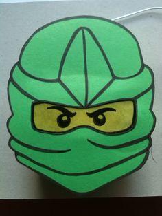 Hallo zusammen, hier, wie schon angekündigt die 2 Ninjago Laterne Was braucht ihr: - eine leere Saft oder Milc...