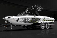 2013 Centurion Boats FX-22 Wakeboarding Wakesurfing